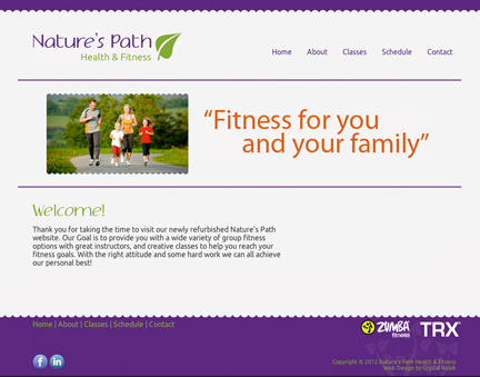 Natures Path website